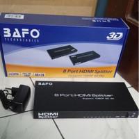 BAFO 8 PORT HDMI SPLITTER 4K