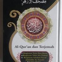 Al-Quran Mushaf Al-Azhar Terjemah Tafsir Ukuran A6