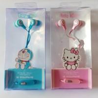 17e4d57d2 Headset Karakter Doraemon Hello Kitty Handsfree Earphone Karakter