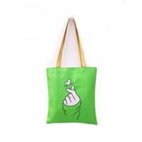 TC49 Korea Love Sign Tote Bag / Tas Tote Tanda Cinta Korea