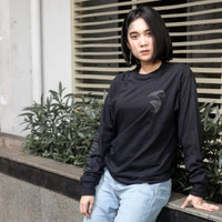 Culture Hero | Kaos Distro Keren Budaya Indonesia: Classic Logo Black