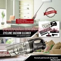 alat pembersih penghilang debu cyclone vaccum cleaner maxhealth murah