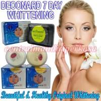 Pemutih Wajah Deoonard Penghilang Jerawat deoonard 7days whitening