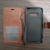 Samsung S10 edge Flip wallet leather