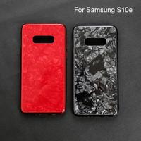 Samsung s10 edge / s10 lite Shiny Shell Diamond Glass Hard Case