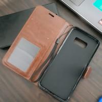 Samsung s8 Plus Flip wallet leather