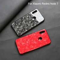 Xiaomi Redmi note 7 Shiny Shell Diamond Glass Hard Case