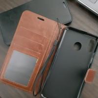 Samsung M20 Flip wallet leather