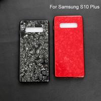 Samsung s10 PLUS Shiny Shell Diamond Glass Hard Case