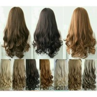 Hairclip murah Big Layer Curly / Hairclip Curly /Hairclip Biglayer