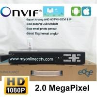 Paket DVR NVR 4 Ch CCTV Cloud P2P ANALOG AHD HDTVI IP CAMERA