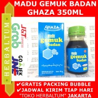 Madu Ghaza - Herbal Menaikkan Berat Badan - Madu Gemuk Badan