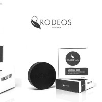 RODEOS CHARCOAL SOAP FOR MEN - ORIGINAL 100%
