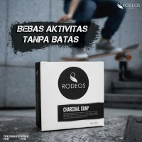 SABUN RODEOS CHARCOAL FOR MEN - ORIGINAL 100%
