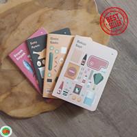 Buku Catatan Kecil Indonesian Food Series Plain Pocket Notes Unik