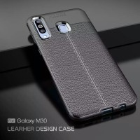 Case Leather Samsung Galaxy M30 Soft Auto Focus Kulit Cover Exclusive