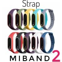 Xiaomi Mi Band 2 Strap Tali Gelang Karet Silikon Silicone Jam