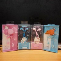 HANDFREE / HEADSET KARAKTER DORAEMON / EARPHONE HELLO KITTY