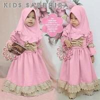 Sabbhira Kid/Gamis Balotely/Gamis Anak/Gamis Batita/Baju Muslim Anak