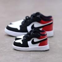 ( Toddler ) Nike Air Jordan 1 Low Black Toe 100% Authentic