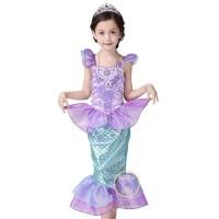 Mermaid Dress - Princess Ariel Dress - Kostum anak 2TH - 8TH