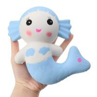 NEW Cartoon Mermaid Squishy Toy Scented Bread Cake Super