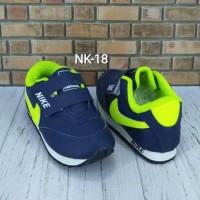 Best Sepatu Nike Anak Navy Ijo Stabilo NK-18 - 24