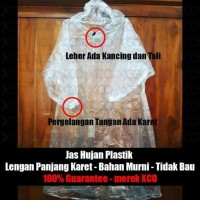 Best Jas Hujan Plastik - XCO rain coat - model ponco - lusinan