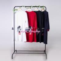 Baju lucu / Grosir Pakaian wanita murah / Kaos hijaber : Mickey Tunik