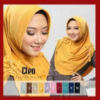 HOT SALE Kerudung / Jilbab Instan CLEO Pad Antem - Hitam