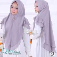 Dijual Jilbab Instan Hijab Syari Kerudung Khimar Ceruti Sifon Hanum