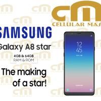 Samsung Galaxy A8 Star 4/64 RAM 4GB ROM 64GB GARANSI RESMI SEIN