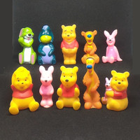 Topper Kue Action Mini Figure Pajangan Disney Winnie Pooh Tiger Piglet