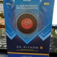 Al Quran AR RIYADH A5 Perkata Sambung Warna