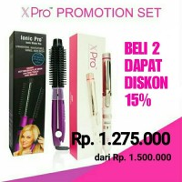 Promotion set Ionic Pro+Xpro auto spin curl
