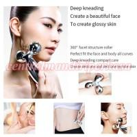 Alat Pengencang Kulit wajah 3D Roller Massager 360 Rotate 3D Full Body