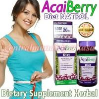 acaiberry diet natrol vitamin pelangsing badan herbal obat diet alami