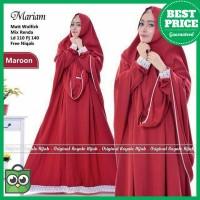 Murah MARIAM SYARI - UKURAN XL - GAMIS SET JILBAB - FASHION MUSLIM -