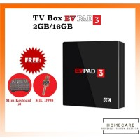 HC TV Box EVPAD 3 2GB/16GB Android 6K OctaCore Full Free