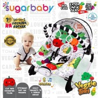 Sugar Baby Bouncer 10in1 Kursi Bayi / Premium Baby Rocker - Veggie