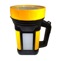 Senter Jumbo 7W + Emergency + Rechargable Lampu LED Jarak Jauh CA-5521