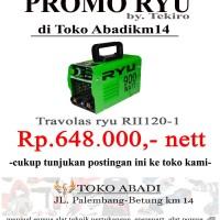 TRavolas/ travo las/ mesin las Ryu RII 120-1 by tekiro cooperation
