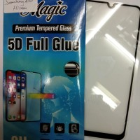 SCREEN PROTECTOR 5D FULL FOR SAMSUNG A20 TEMPERED GLASS FULL SCREEN 5D