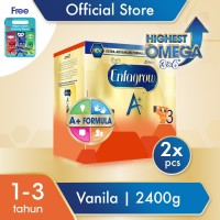 Enfagrow A 3 Susu Formula Vanila 4800g Free PJ Mask Activity Book
