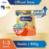 Enfagrow A  3 Susu Formula Vanilla 800g free Voucher Sodexo 25K