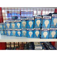 Lampu LED ECONO 3 Watt / 3W tipe E27 merk KEIBU Sinar Putih / Kuning