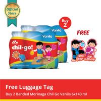 Buy 2 Chil Go Vanilla 6x140ml Free Luggage Tag