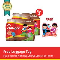 Buy 2 Chil Go Chocolate 6x140ml Free Luggage Tag