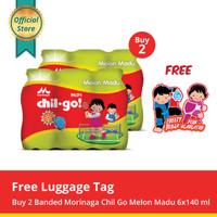 Buy 2 Chil Go Milk Melon Madu 6x140ml Free Luggage Tag