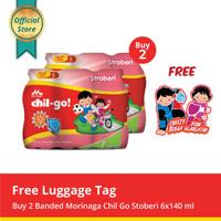 Buy 2 Chil Go Strawberry 6x140ml Free Luggage Tag